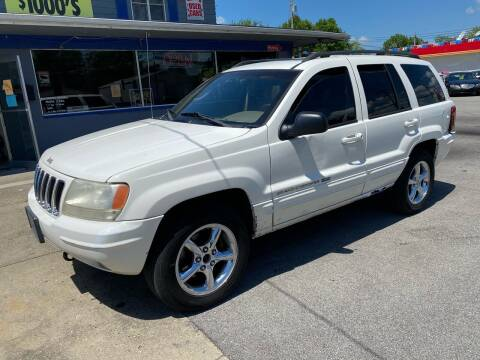 2002 Jeep Grand Cherokee for sale at Wise Investments Auto Sales in Sellersburg IN