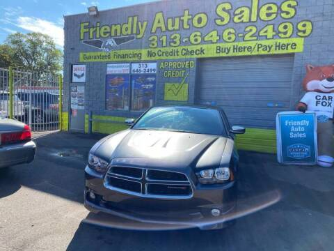 2014 Dodge Charger for sale at Friendly Auto Sales in Detroit MI