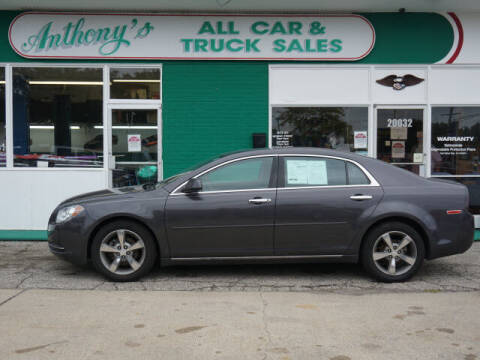 2012 Chevrolet Malibu for sale at Anthony's All Cars & Truck Sales in Dearborn Heights MI