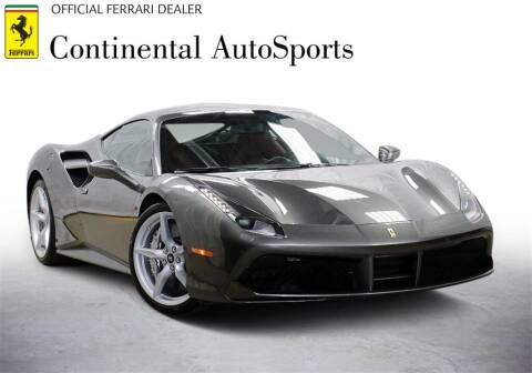 2017 Ferrari 488 GTB for sale at CONTINENTAL AUTO SPORTS in Hinsdale IL