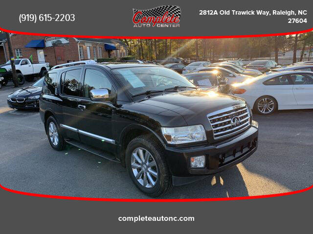 2010 Infiniti QX56 for sale at Complete Auto Center , Inc in Raleigh NC