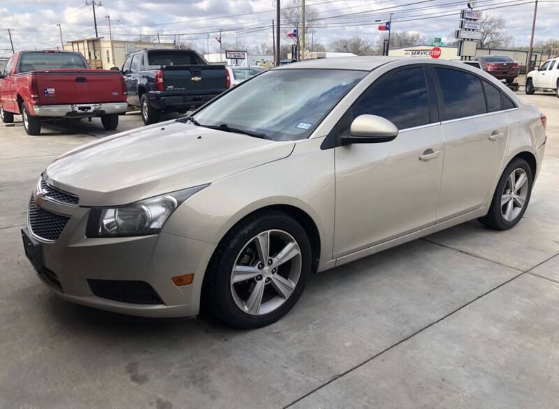 2012 Chevrolet Cruze for sale at Texas Auto Broker in Killeen TX