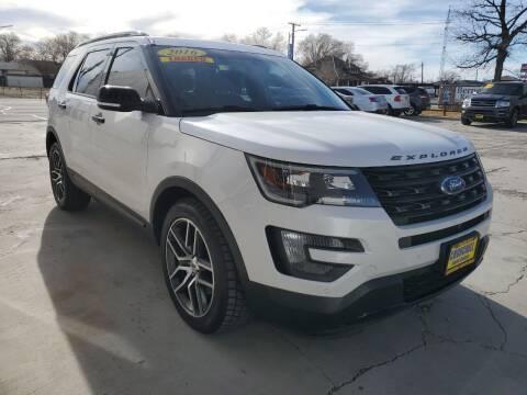 2016 Ford Explorer for sale at CHURCHILL AUTO SALES in Fallon NV