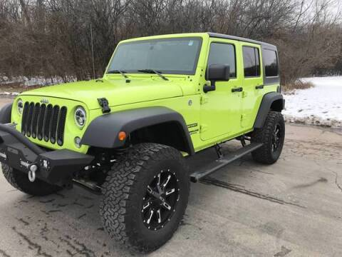 2016 Jeep Wrangler Unlimited for sale at Sam Buys in Beaver Dam WI