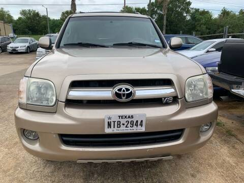 2006 Toyota Sequoia for sale at 1st Stop Auto in Houston TX
