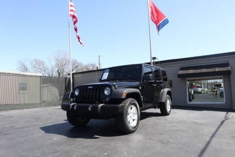 2017 Jeep Wrangler Unlimited for sale at Danny Holder Automotive in Ashland City TN
