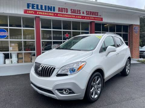 2014 Buick Encore for sale at Fellini Auto Sales & Service LLC in Pittsburgh PA