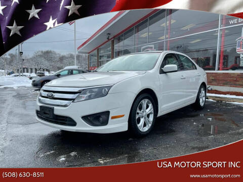 2012 Ford Fusion for sale at USA Motor Sport inc in Marlborough MA