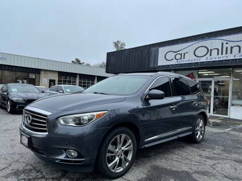 2013 Infiniti JX35 for sale at Car Online in Roswell GA