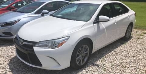 2017 Toyota Camry for sale at Tommy's Auto Sales in Inez KY