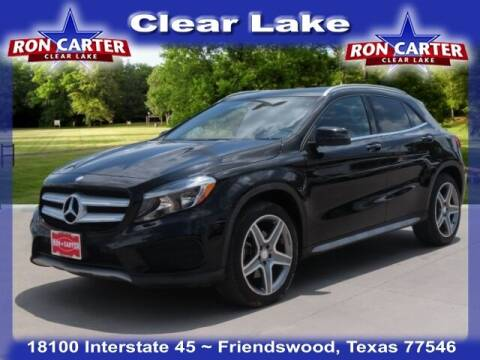 2015 Mercedes-Benz GLA for sale at Ron Carter  Clear Lake Used Cars in Houston TX