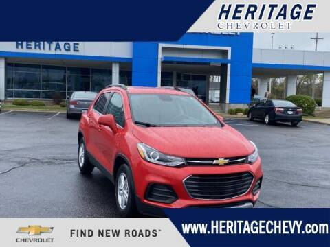 2018 Chevrolet Trax for sale at HERITAGE CHEVROLET INC in Creek MI