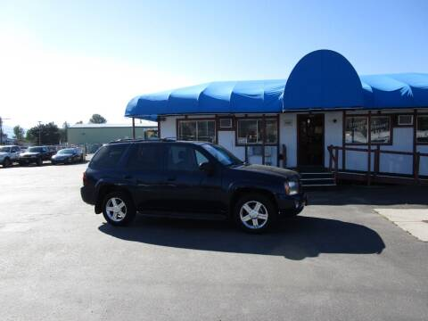 2008 Chevrolet TrailBlazer for sale at Jim's Cars by Priced-Rite Auto Sales in Missoula MT