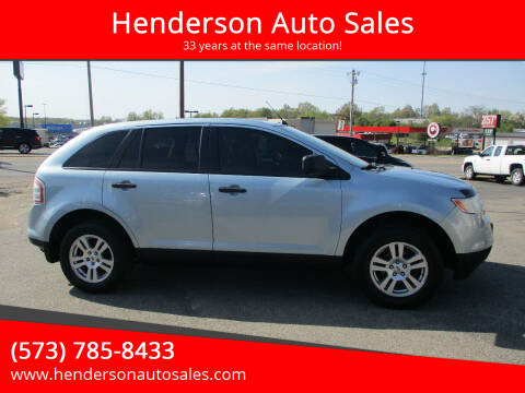 2008 Ford Edge for sale at Henderson Auto Sales in Poplar Bluff MO