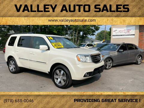2014 Honda Pilot for sale at VALLEY AUTO SALES in Methuen MA