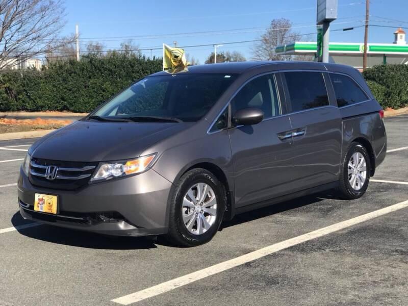 2014 Honda Odyssey for sale at RUSH AUTO SALES in Burlington NC