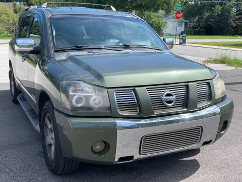 2004 Nissan Armada for sale at Consumer Auto Credit in Tampa FL