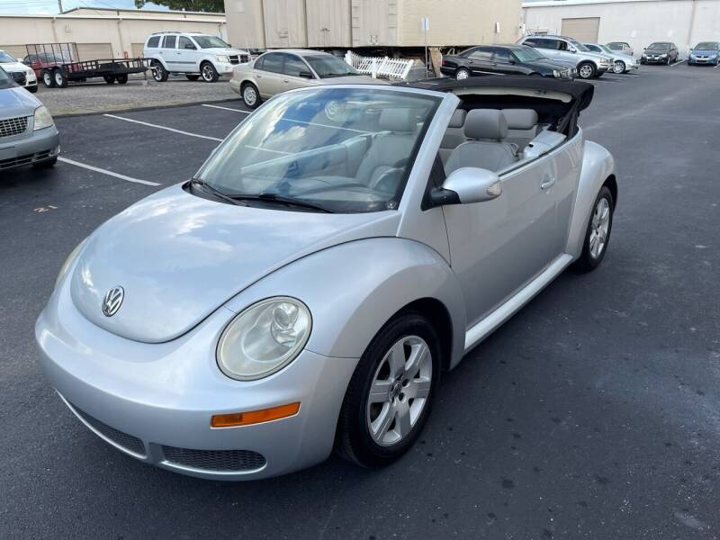 2007 Volkswagen New Beetle Convertible for sale at Ultimate Autos of Tampa Bay LLC in Largo FL