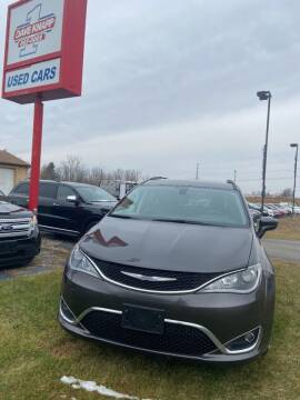 2017 Chrysler Pacifica for sale at DAVE KNAPP USED CARS in Lapeer MI