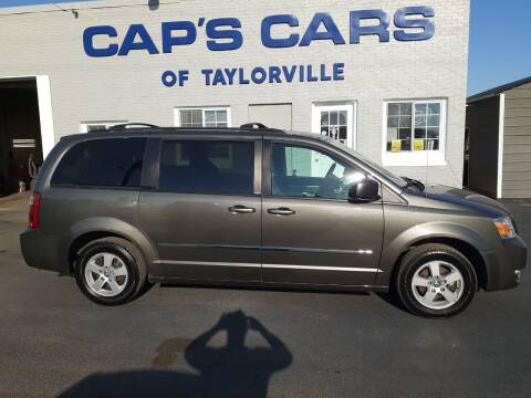 2010 Dodge Grand Caravan for sale at Caps Cars Of Taylorville in Taylorville IL