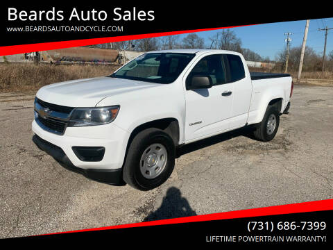 2018 Chevrolet Colorado for sale at Beards Auto Sales in Milan TN