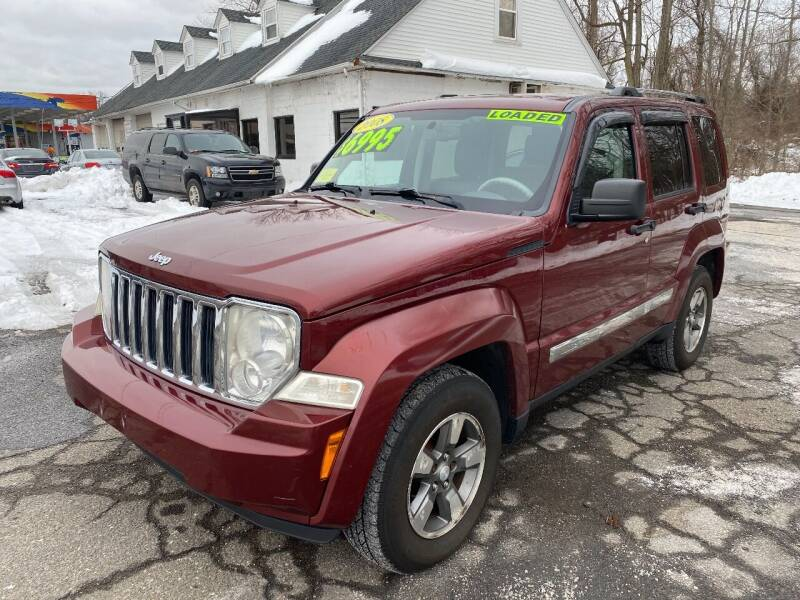 2008 Jeep Liberty for sale at East Windsor Auto in East Windsor CT