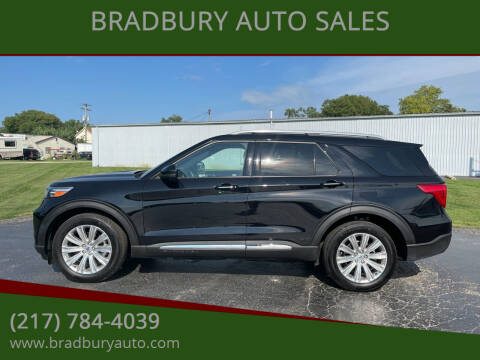 2020 Ford Explorer for sale at BRADBURY AUTO SALES in Gibson City IL