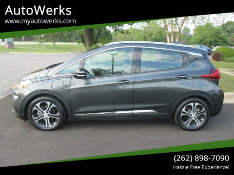 2017 Chevrolet Bolt EV for sale at AutoWerks in Sturtevant WI