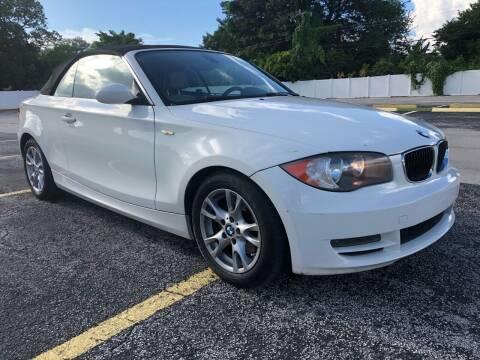 2009 BMW 1 Series for sale at Guru Auto Sales in Miramar FL