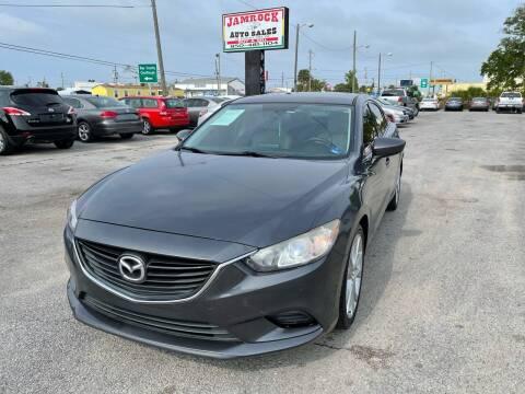 2016 Mazda MAZDA6 for sale at Jamrock Auto Sales of Panama City in Panama City FL