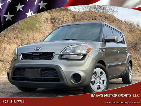 2013 Kia Soul for sale at Baba's Motorsports, LLC in Phoenix AZ