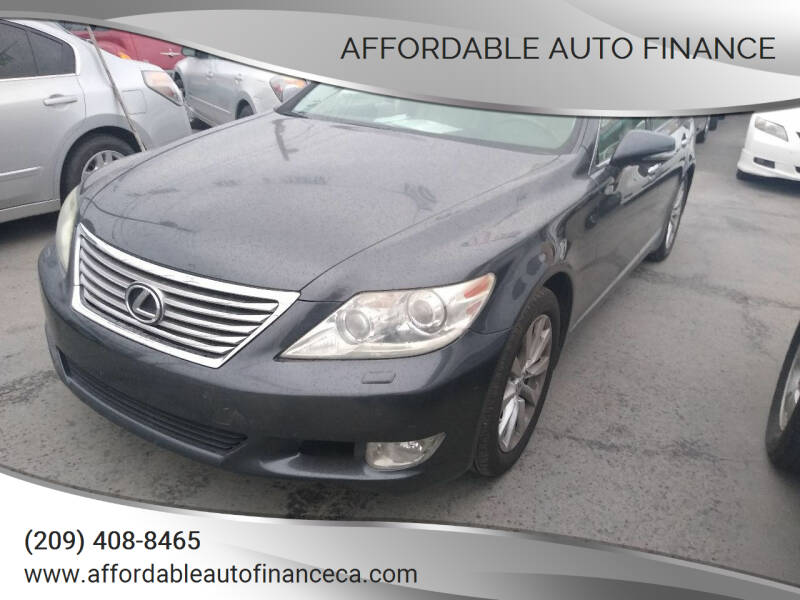 2010 Lexus LS 460 for sale at Affordable Auto Finance in Modesto CA
