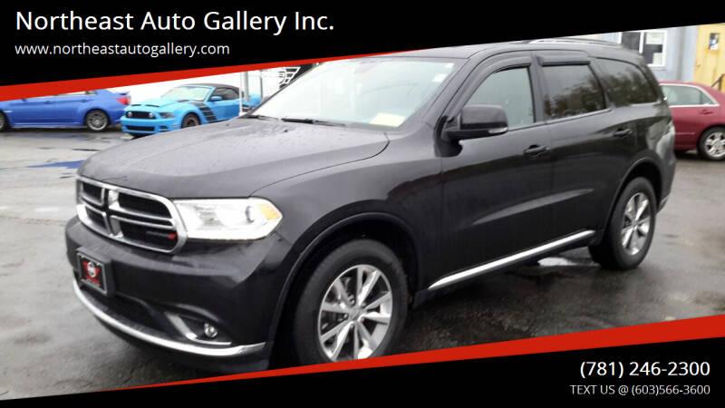 2016 Dodge Durango for sale at Northeast Auto Gallery Inc. in Wakefield Ma MA