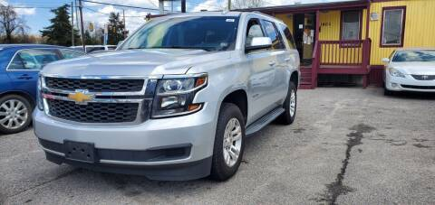 2015 Chevrolet Tahoe for sale at AUTO NETWORK LLC in Petersburg VA