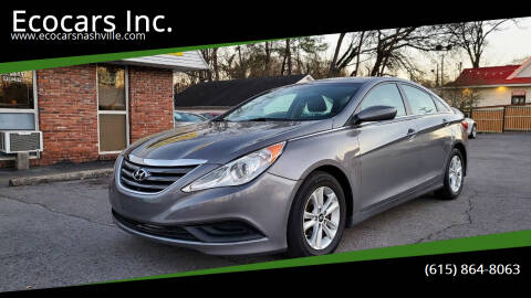 2014 Hyundai Sonata for sale at Ecocars Inc. in Nashville TN