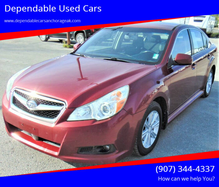 2011 Subaru Legacy for sale at Dependable Used Cars in Anchorage AK