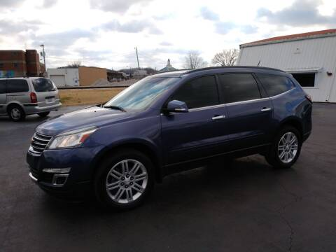 2014 Chevrolet Traverse for sale at Big Boys Auto Sales in Russellville KY