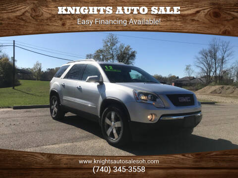 2012 GMC Acadia for sale at Knights Auto Sale in Newark OH