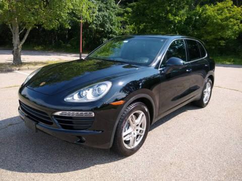 2012 Porsche Cayenne for sale at Washington Street Auto Sales in Canton MA
