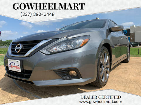 2018 Nissan Altima for sale at GOWHEELMART in Leesville LA