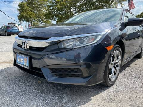 2018 Honda Civic for sale at AUTORAMA SALES INC. in Farmingdale NY
