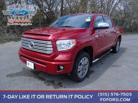 2017 Toyota Tundra for sale at Fort Dodge Ford Lincoln Toyota in Fort Dodge IA