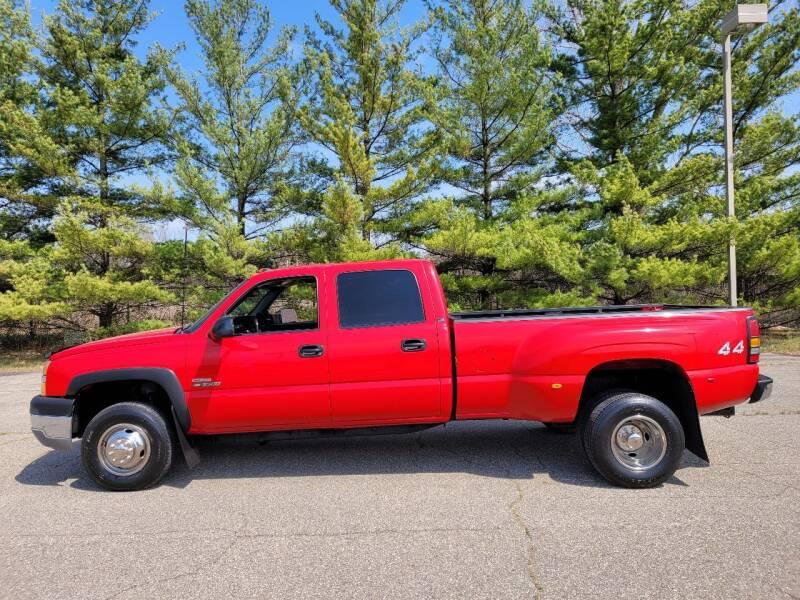 2003 Chevrolet Silverado 3500 for sale at Finish Line Auto Sales Inc. in Lapeer MI