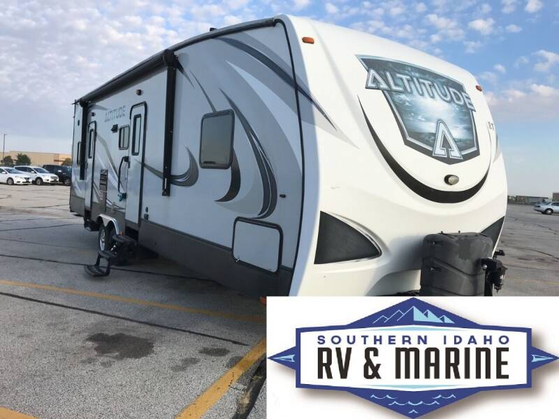 2017 CROSSROADS RV ALTITUDE 310 for sale at SOUTHERN IDAHO RV AND MARINE in Jerome ID