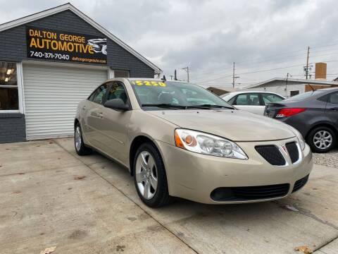 2009 Pontiac G6 for sale at Dalton George Automotive in Marietta OH
