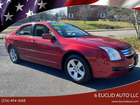 2008 Ford Fusion for sale at 6 Euclid Auto LLC in Bristol VA