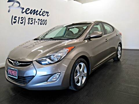2013 Hyundai Elantra for sale at Premier Automotive Group in Milford OH