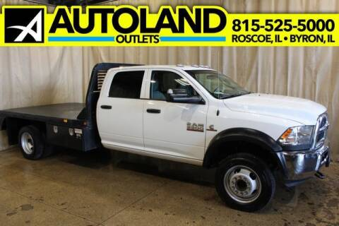 2018 RAM Ram Chassis 5500 for sale at AutoLand Outlets Inc in Roscoe IL