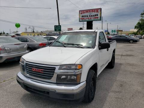2005 GMC Canyon for sale at Jamrock Auto Sales of Panama City in Panama City FL