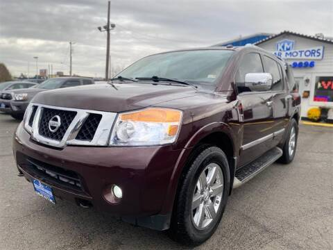 2013 Nissan Armada for sale at Kargar Motors of Manassas in Manassas VA